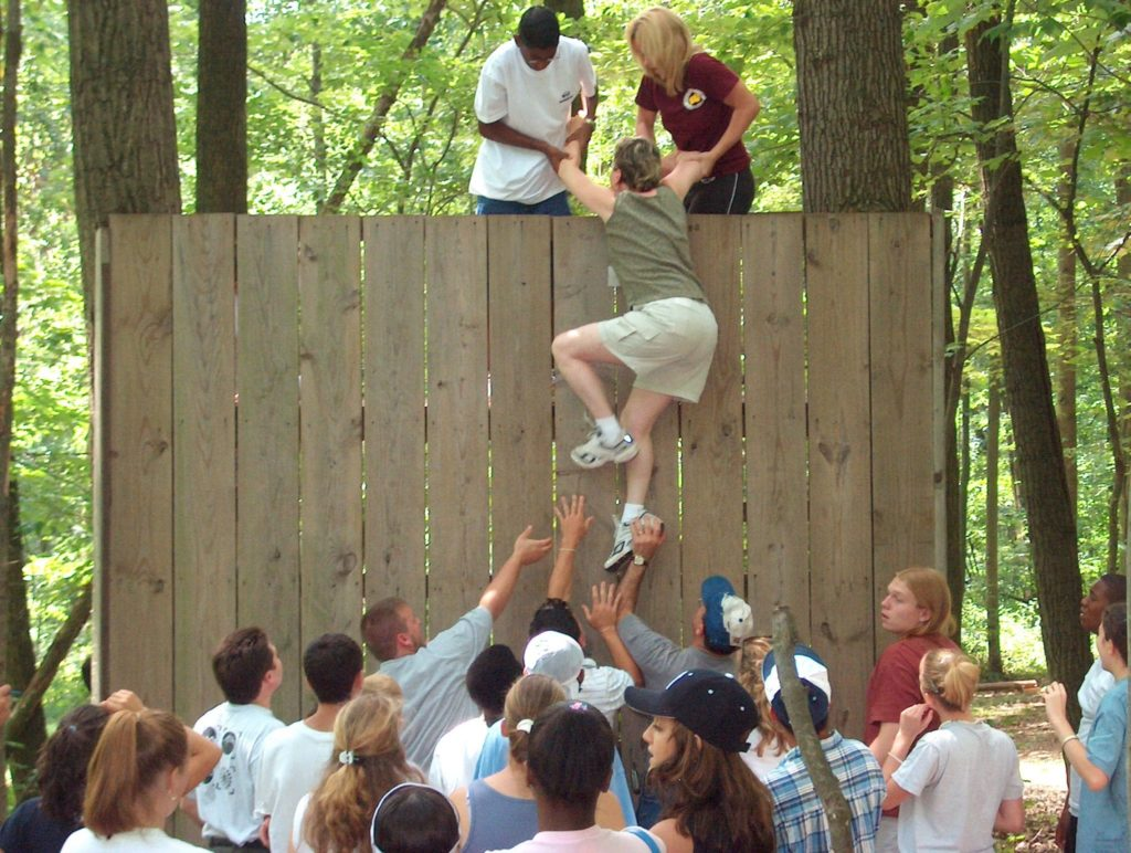 Teambuilding Challenge - Great Wall