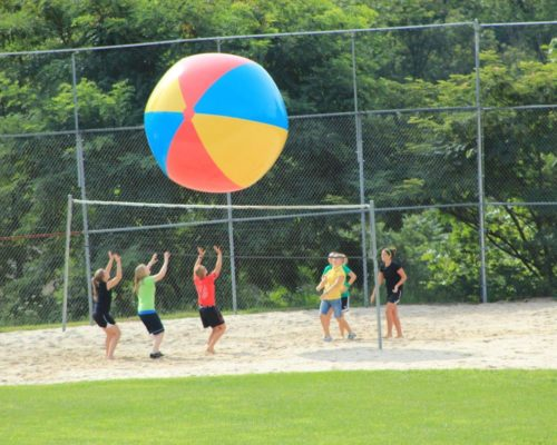 Youth Retreat Volleyball in Lancaster, PA