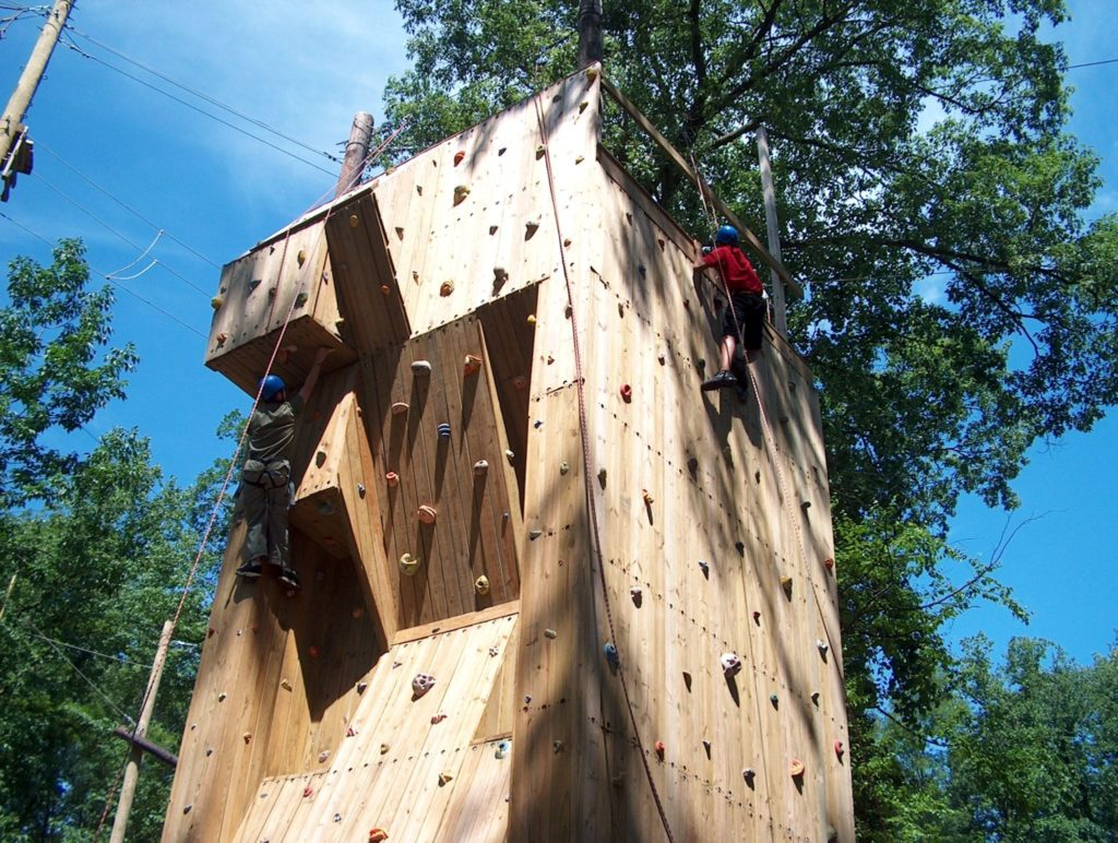 Climbing Tower Outdoor Activity