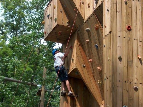 Climbing Tower_Man_Summer
