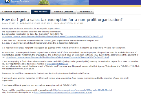 pa sales tax form - Diving.thexperience.co
