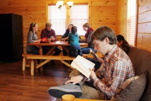 family retreat cabin rentals