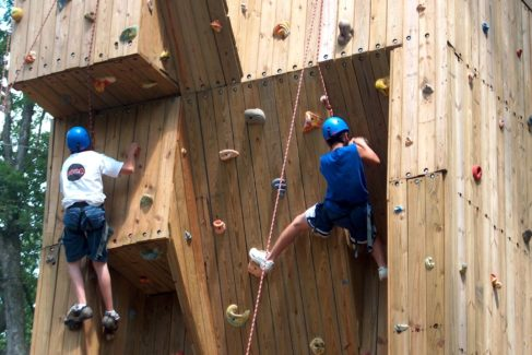 Climbing Tower_Men_Teens_Summer
