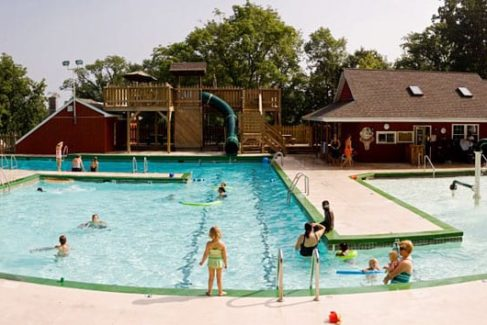 Pool_Water Slide_Kids_Families_Summer