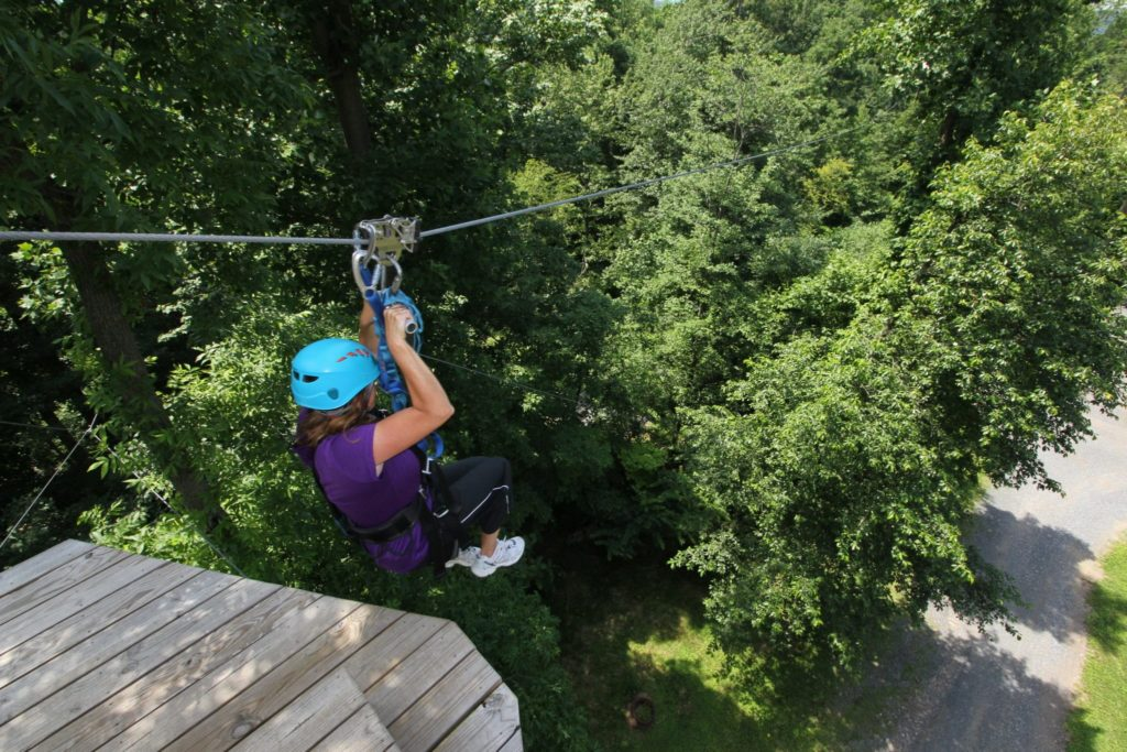 Behind The Scenes Ziplining Fun Safety At Refreshing Mountain In Pa