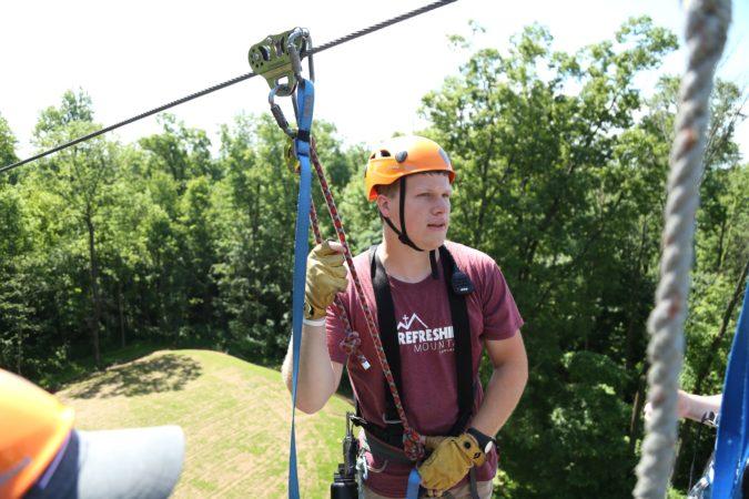 Men_High Ropes_Challenge Adventure_Ziplines