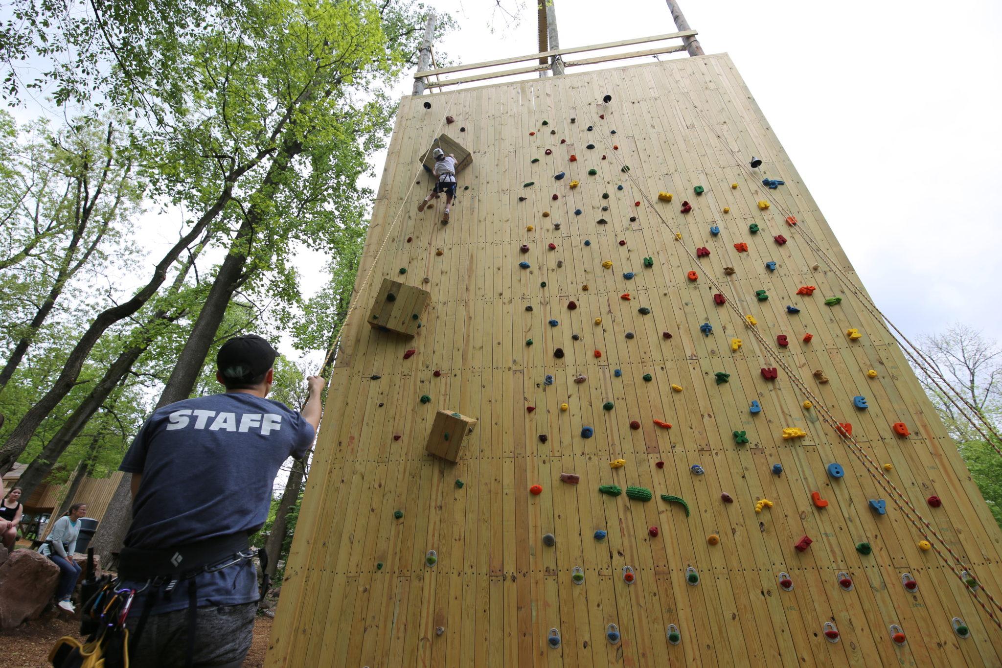 climbing tower summer