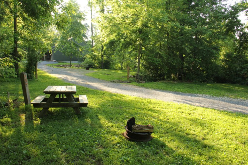 Camping Tent Sites in Lancaster County, PA