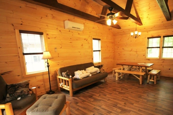 retreat center rentals third rental free vacation night lancaster at refreshing cabins in pa mountain adventure cabin