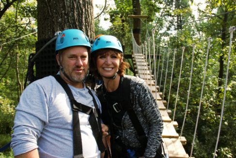 Wedding Anniversary Celebration – Zipline for FREE with Cabin Rental!