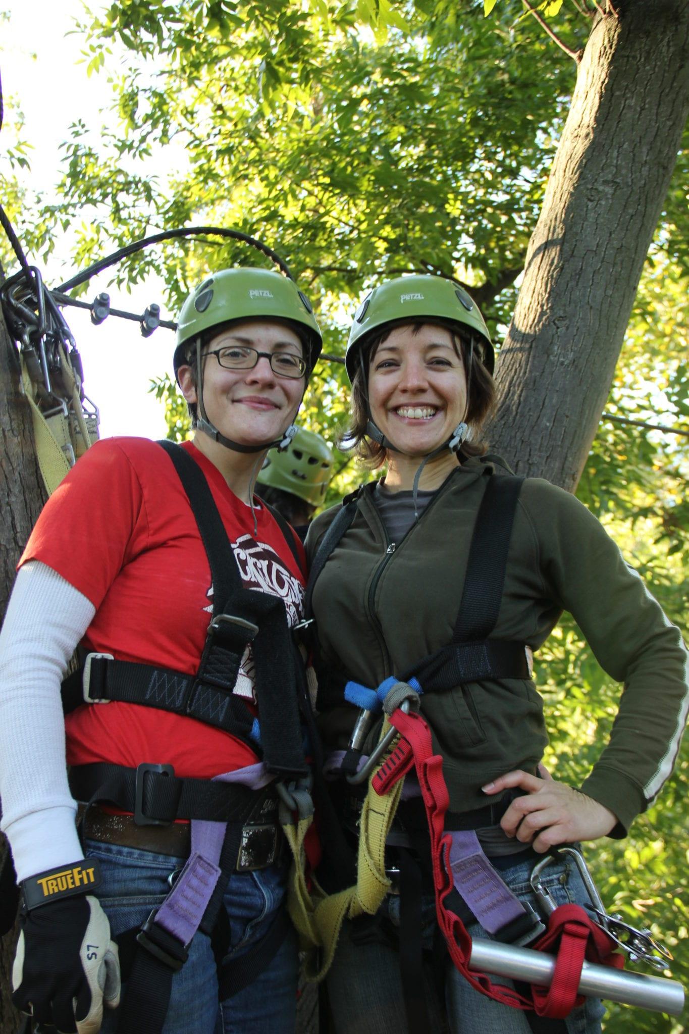 Ziplines_Challenge Adventure_Fall_Women