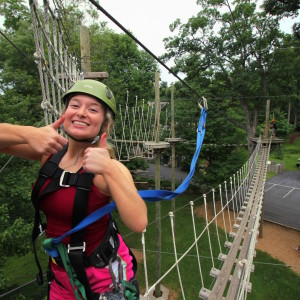 Challenge Adventure_Zipline_Thumbs Up_Summer_Ladies