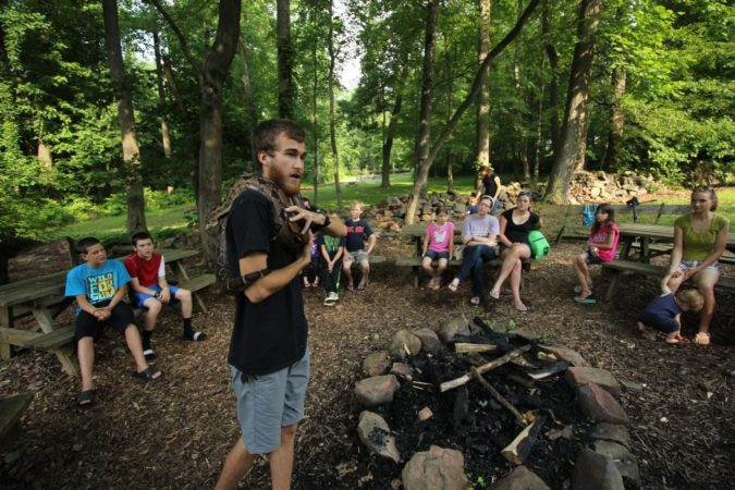 Nature Center_Snake_Lesson_Staff_Summer