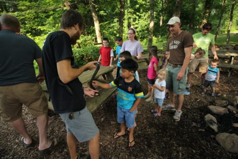 Nature Center_Snake_Lesson_Staff_Summer_Hands On