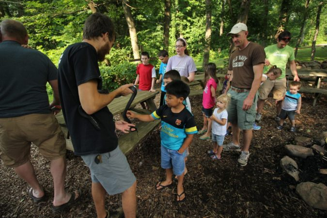 Nature Center_Snake_Lesson_Staff_Summer_Hands On