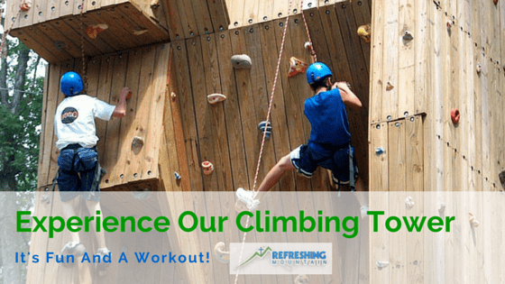 Climbing Tower Blog Article Banner Image