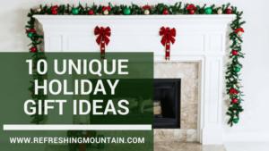 10 unique gift ideas Blog Banner