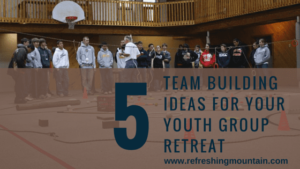 5 Teambuilding Youth Group Blog Banner
