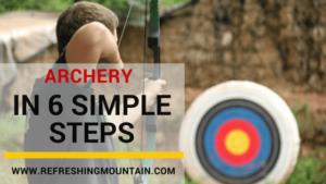 Archery in 6 steps Blog Banner