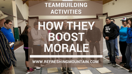 Corp Team Boosts Morale Blog Banner