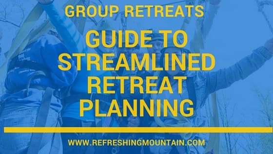 Refreshing Mountain Guide to Streamlined Retreat Planning
