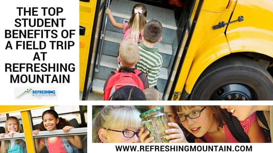 Field Trips at Refreshing Mountain Banner