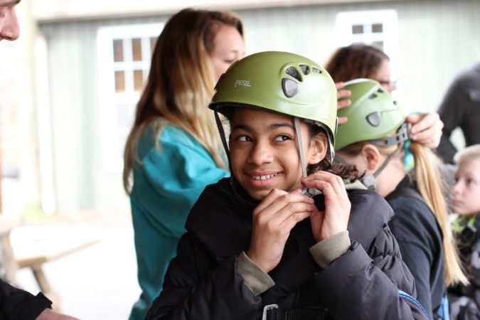Winter_Children_Youth_Zipline_Challenge Adventure