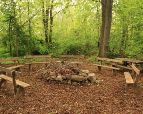 Campfire Summer Outdoor Space
