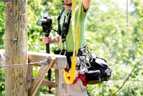 Nick Weaver Zipline Photographer