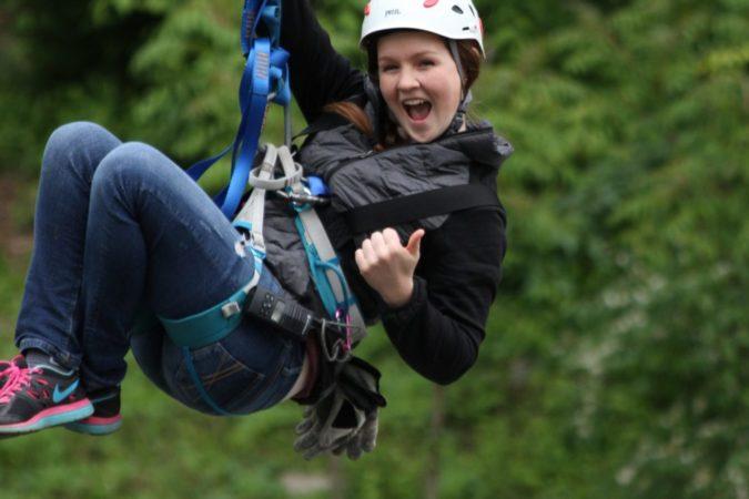 Challenge Adventure_Staff_Dianna_Women_Spring_Zipline
