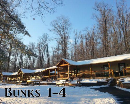 Bunks 1-4 winter