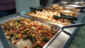Dinner Dining Hall Buffet