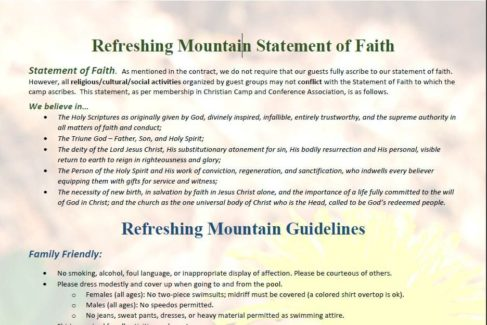 RM Guidelines Statement of Faith