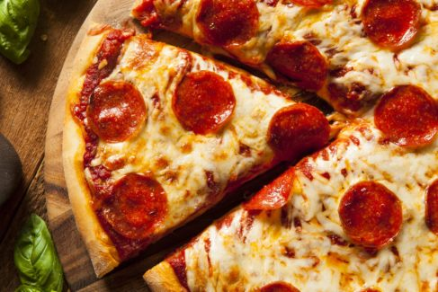 Food Snack Pepperoni Pizza