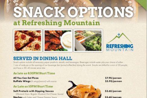 Snack Menu Options pic