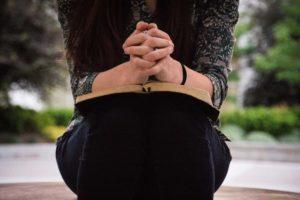 Women Praying at retreat in lancaster pa
