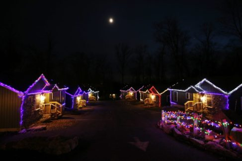Christmas Cabins 20% Off