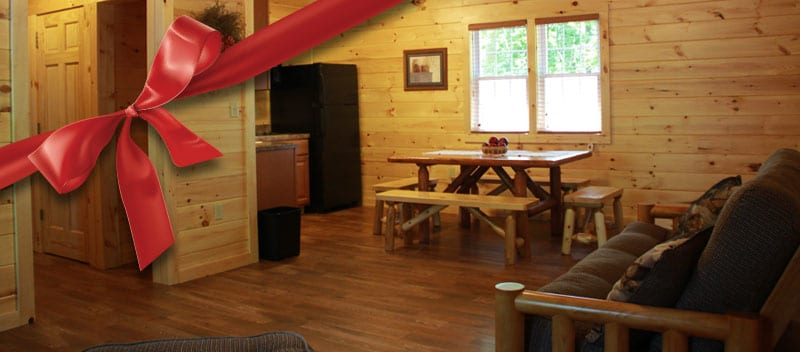 Christmas Holiday Cabin Getaway Special Lancaster PA