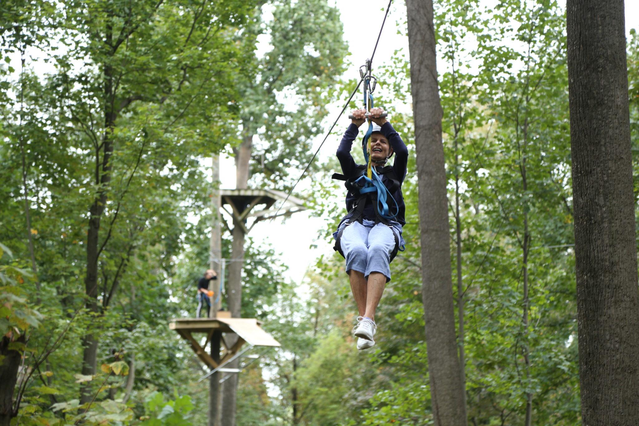 Flying V Zipline Adult Summer